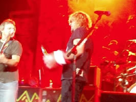 Even Sammy Hagar uses a foam fist koozie